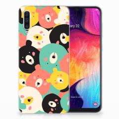 Samsung Galaxy A50 Telefoonhoesje met Naam Bears