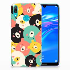 Huawei Y7 2019 Telefoonhoesje met Naam Bears
