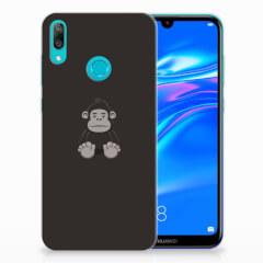 Huawei Y7 2019 Telefoonhoesje met Naam Gorilla
