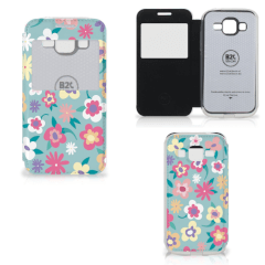 Samsung Galaxy Core Prime Hoesje Flower Power