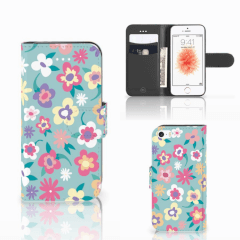 Apple iPhone 5 | 5s | SE Hoesje Flower Power