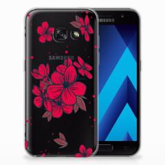 Samsung Galaxy A3 2017 TPU Case Blossom Red