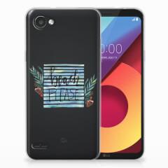 LG Q6 | LG Q6 Plus Telefoonhoesje met Naam Boho Beach