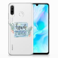 Huawei P30 Lite Telefoonhoesje met Naam Boho Beach