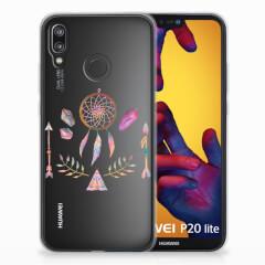 Huawei P20 Lite Telefoonhoesje met Naam Boho Dreamcatcher