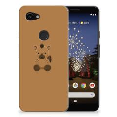 Google Pixel 3A Telefoonhoesje met Naam Baby Hyena
