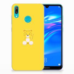 Huawei Y7 2019 Telefoonhoesje met Naam Baby Leopard