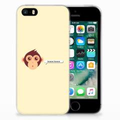 Apple iPhone SE | 5S Telefoonhoesje met Naam Monkey