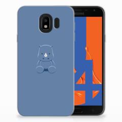 Samsung Galaxy J4 2018 Telefoonhoesje met Naam Baby Rhino