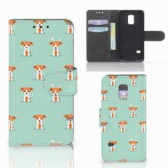 Samsung Galaxy S5 Mini Telefoonhoesje met Pasjes Pups