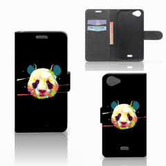 Wiko Rainbow Jam Leuk Hoesje Panda Color