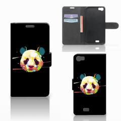 Wiko Lenny Leuk Hoesje Panda Color