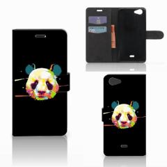 Wiko Pulp Fab 4G Leuk Hoesje Panda Color