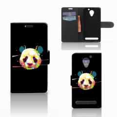 Lenovo C2 Power Leuk Hoesje Panda Color