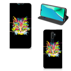 OPPO A5 (2020) | A9 (2020) Magnet Case Cat Color