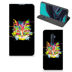 OPPO Reno2 Magnet Case Cat Color