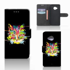 HTC U11 Life Leuk Hoesje Cat Color