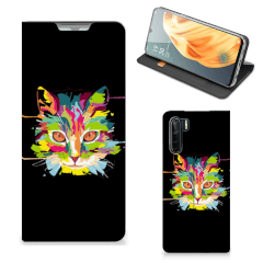 OPPO Reno3 | A91 Magnet Case Cat Color