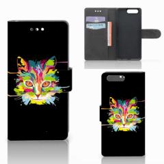 Huawei P10 Leuk Hoesje Cat Color
