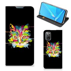 OPPO A52   A72 Magnet Case Cat Color