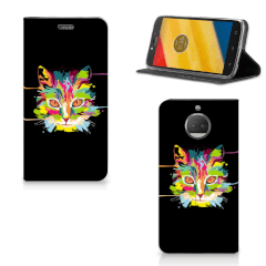 Motorola Moto G5S Plus Magnet Case Cat Color