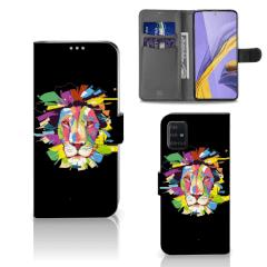 Samsung Galaxy A51 Leuk Hoesje Lion Color