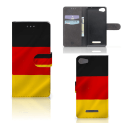 Wiko Lenny 2 Bookstyle Case Duitsland