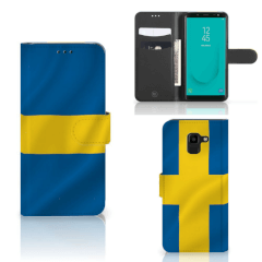 Samsung Galaxy J6 2018 Bookstyle Case Zweden