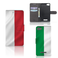 Wiko Lenny 2 Bookstyle Case Italië