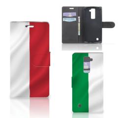 LG K10 2015 Bookstyle Case Italië