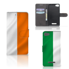 Wiko Lenny 2 Bookstyle Case Ierland