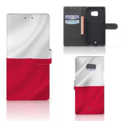 HTC U Ultra Bookstyle Case Polen