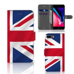 Apple iPhone 7 Plus | 8 Plus Bookstyle Case Groot-Brittannië