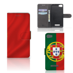 Wiko Lenny 2 Bookstyle Case Portugal