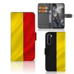 OnePlus Nord Bookstyle Case Belgische Vlag