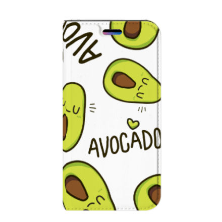 Apple iPhone X | Xs Magnet Case Avocado Singing